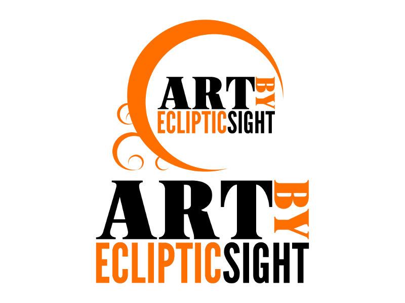 Art By Ecliptic Sight Logo Design