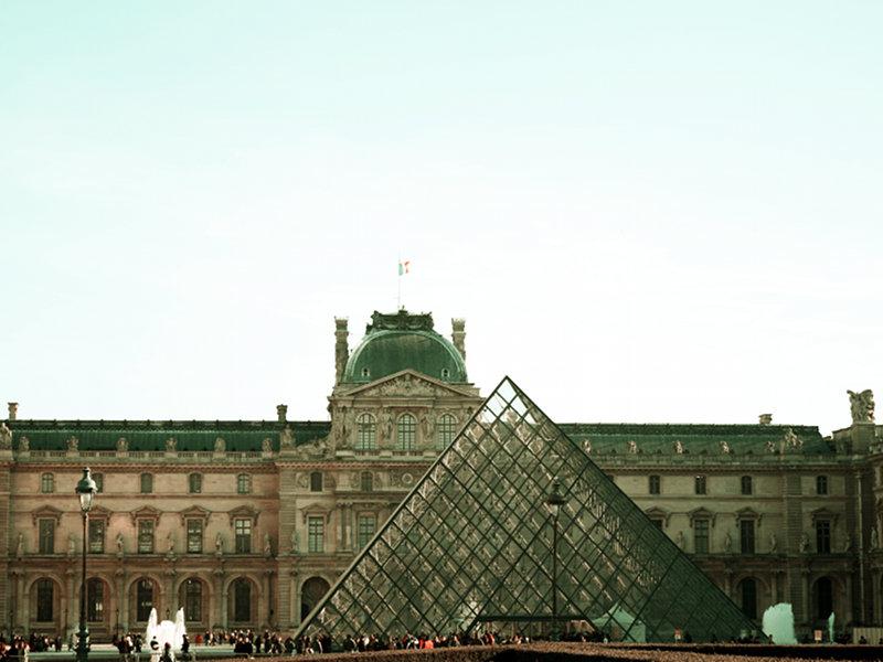 Vintage Musée du Louvre