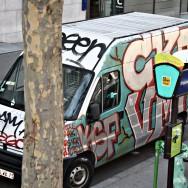 Graffiti Van Spotted In France
